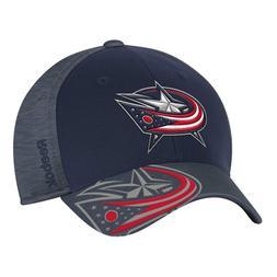 NHL Columbus Blue Jackets Structured Flex Fit Hat Center Ice