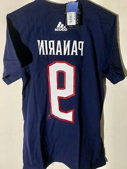 ADIDAS NHL T-Shirt Columbus Blue Jackets Artemi Panarin Navy
